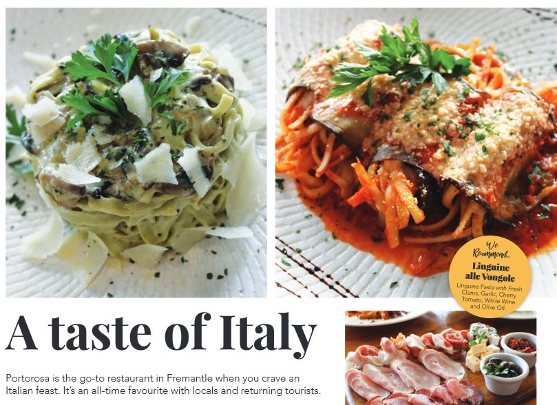 A taste of Italy | Fremantle Herald Article